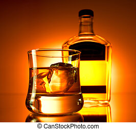 One whiskey