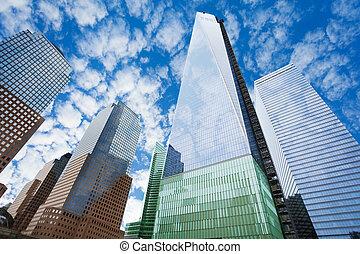 One world trade center in New York, USA - One world trade...