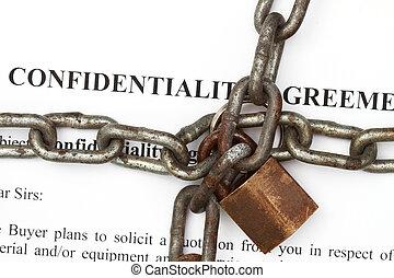onfidentiality, abkommen, abstrakt