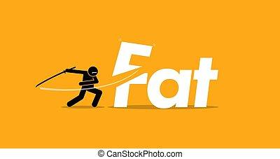 ongezond voedsel, dik, gezonde , holle weg, diet.