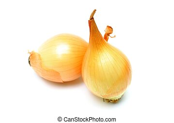 Onion - An image of onion on white background