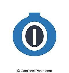 onion  glyph color icon