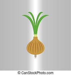 onion logo vector icon illustration symbol