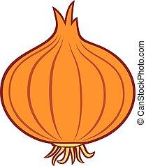 onion vector icon