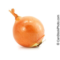 onion vegetable fruit isolated on white