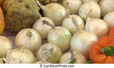 Onion white and celery, very tasty and healthy for a healthy...
