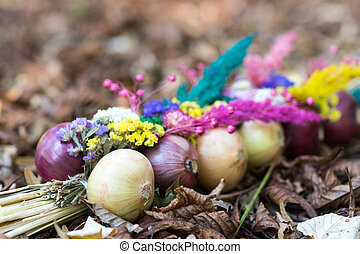 Onions decoration