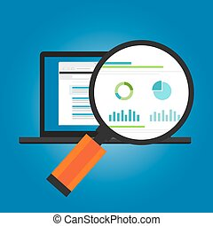 online ads conversion number analytic website traffic visitor statistic chart session report