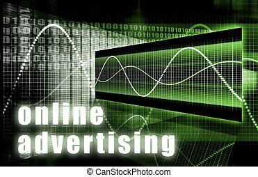 Online Advertising on the Web Creative Concept