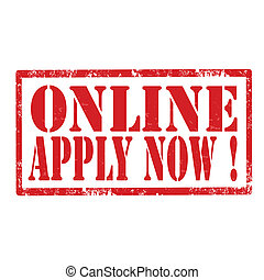 Online Apply Now-stamp
