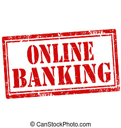 Online Banking-stamp