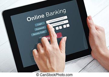 online-bankwesen, begriff