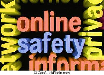 online, biztonság