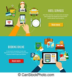 Online Booking Horizontal Banners - Online booking ...