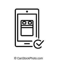 online booking vector illustration design