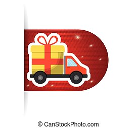 online buy truck delivery card