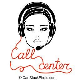 Online call center concept