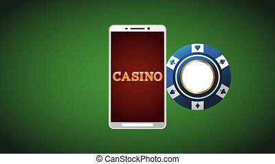 Online casino game HD animation - Online casino from...