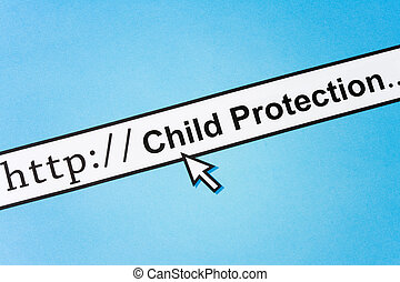 Online Child Protection - concept of online Child...