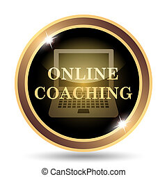 Online coaching icon