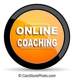 online coaching orange icon