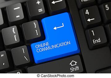 Online Communication Key.