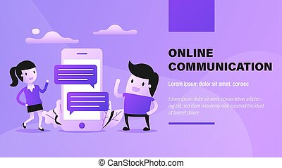 Online Communication.