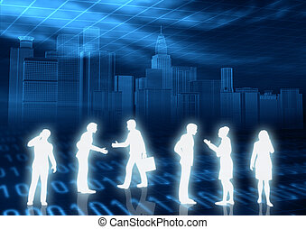 Online Community - People Interaction in Internet world