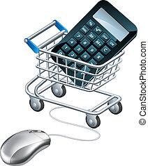 online, contabilidade, conceito