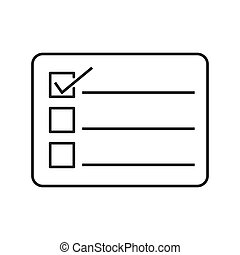 online course homework check icon vector illustration design