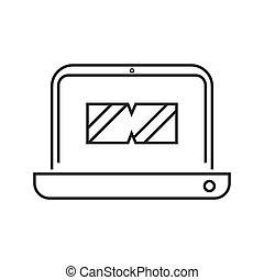 online course vr lesson icon vector illustration design