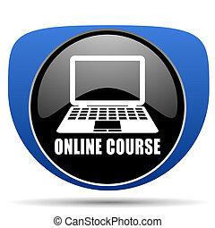 Online course web icon