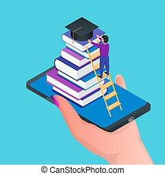 Online education concept 01