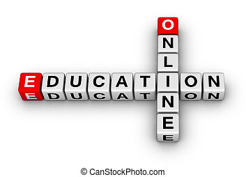 online education crossword