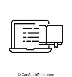 online education illustration design