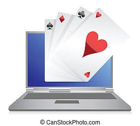 online gambling cards game