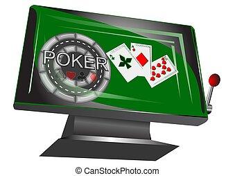 online gambling symbol