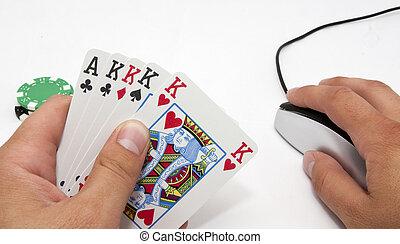 Online gambling, Texas hold-em