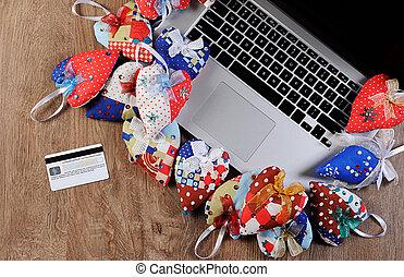 Online gift shopping