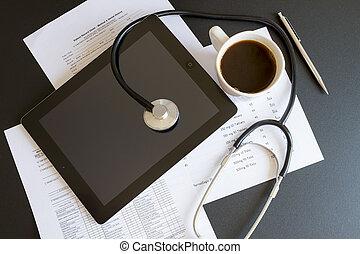 Online health benefits claim form