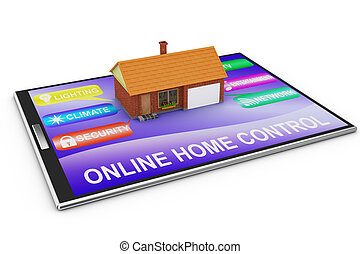 online home control