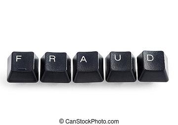 online internet computer cyber fraud concept