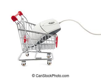 Online internet shopping