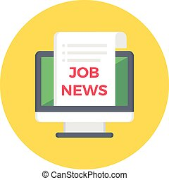 online job news
