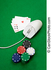 online, kasino