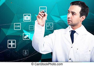 online lægekunst, begreb