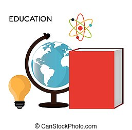 Online learning education graphic