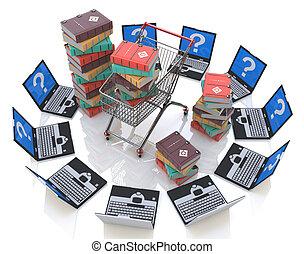 online., libri, acquisto