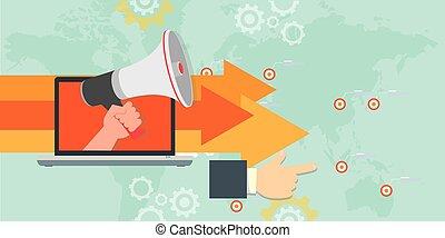 online marketing direction