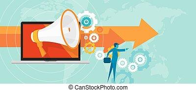 online marketing team